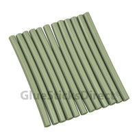 "Silver Metallic Glue Stick mini X 4"" 12 sticks"