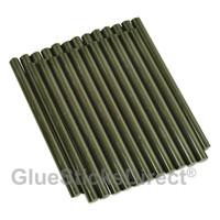 "GlueSticksDirect® Black Hair Fusion Glue Sticks Mini X 4"" 24 Sticks"
