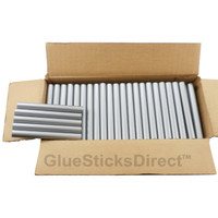 "Silver Metallic Colored Glue Sticks 7/16"" X 4"" 5 lbs"