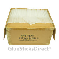 "Wholesale® Hot Melt Glue Stick Mini X 4"" 25 lbs Bulk"