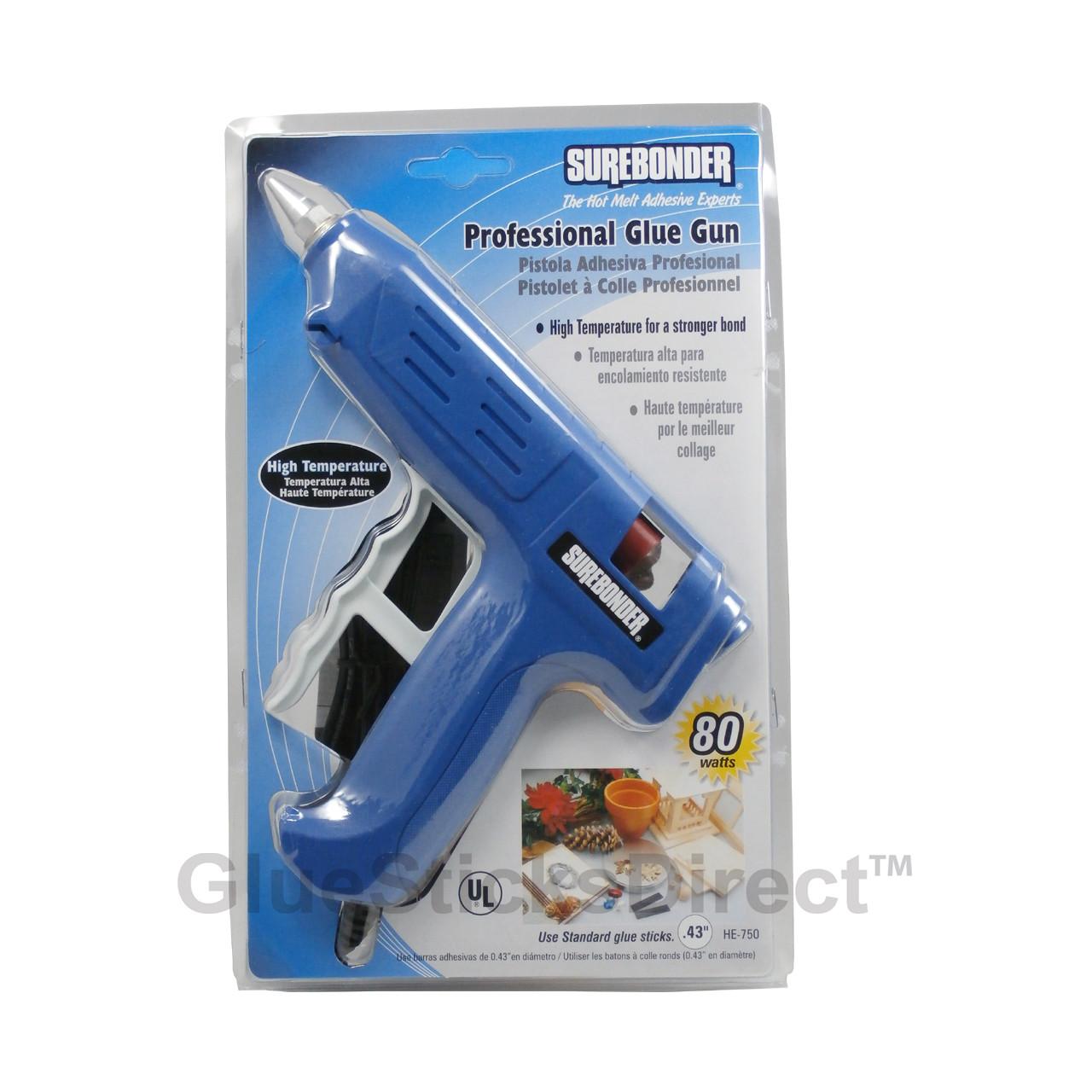 Surebonder HE-750 High Temperature Professional Glue Gun 80 Watts