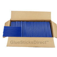 "Blue Colored Glue Stick mini X 4"" 5 lbs"