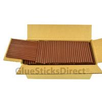 "Brown Milk Chocolate Colored Glue Stick mini X 4"" 5 lbs"