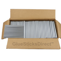"Silver Metallic Colored Glue Stick mini X 4"" 5 lbs"