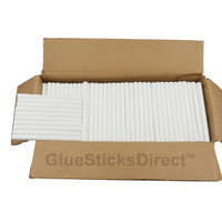 "White Colored Glue Stick mini X 4"" 5 lbs"