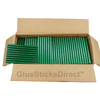 "Green Glitter Colored Glue Stick mini X 4"" 5 lbs"