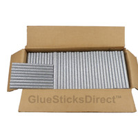 "Silver Glitter Colored Glue Stick mini X 4"" 5 lbs"