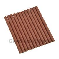 "Burgundy Faux Wax Colored Glue Sticks mini X 4"" 24 sticks"