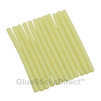 "Opal Glitter Faux Wax Glue Sticks mini X 4"" 12 sticks"