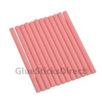 """Pink Faux Wax Colored Glue Sticks mini X 4"""" 24 sticks"""
