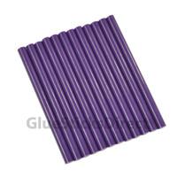 """Purple Faux Wax Colored Glue Sticks mini X 4"""" 24 sticks"""