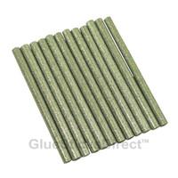 """Silver Glitter Faux Wax Glue Sticks mini X 4"""" 24 sticks"""