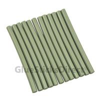 """Silver Metallic Faux Wax Glue Stick mini X 4"""" 24 sticks"""