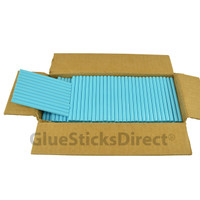 "Turquoise Colored Glue Stick mini X 4"" 5 lbs"