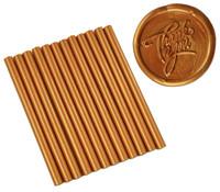 """Copper Metallic Faux Wax Colored Glue Sticks mini X 4"""" 24 sticks"""
