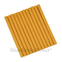 "Golden Rod Colored Glue Sticks mini X 4"" 12 sticks"