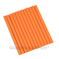 "Peach Colored Glue Sticks mini X 4"" 12 sticks"