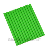 "Mint Green Colored Glue Sticks mini X 4"" 12 sticks"