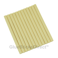 "Ivory Colored Glue Sticks mini X 4"" 12 sticks"