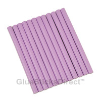"Lavender Colored Glue Sticks mini X 4"" 12 sticks"