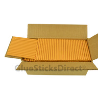 "Golden Rod Colored Glue Stick mini X 4"" 5 lbs"