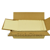 "Ivory Colored Glue Stick mini X 4"" 5 lbs"
