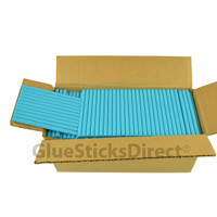"Neon Blue  Colored Glue Stick mini X 4"" 5 lbs"
