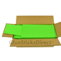 "Neon Green  Colored Glue Stick mini X 4"" 5 lbs"