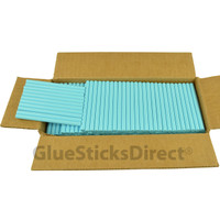 "Pastel Blue  Colored Glue Stick mini X 4"" 5 lbs"