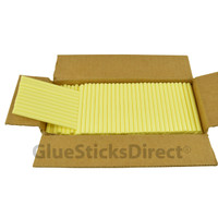 "Pastel Yellow  Colored Glue Stick mini X 4"" 5 lbs"
