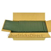 "Army Green  Colored Glue Stick mini X 4"" 5 lbs"