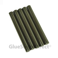 "Army Green Colored Glue Sticks 7/16"" X 4"" 5 lbs"