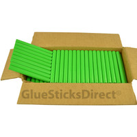 "Mint Green Colored Glue Sticks 7/16"" X 4"" 5 lbs"