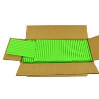 "Neon Green Colored Glue Sticks 7/16"" X 4"" 5 lbs"
