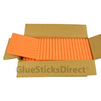 "Peach Colored Glue Sticks 7/16"" X 4"" 5 lbs"