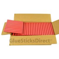 "Red Metallic Colored Glue Sticks 7/16"" X 4"" 5 lbs"