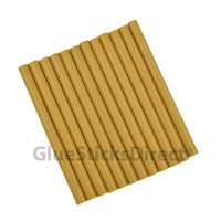 "Caramel Colored Glue Sticks mini X 4"" 12 sticks"