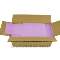 "Translucent Purple Colored Glue Sticks mini X 4"" 5 lbs"