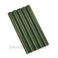 """Forest Green Colored Glue Stick mini X 4"""" 24 Sticks"""