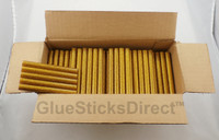 "Gold Glitter Glue Sticks 7/16"" X 4"" 5 lbs bulk"