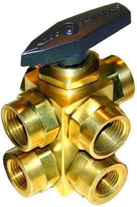6-Port Fuel Ball Valve