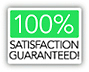 Your 100-percent-satisfaction guarantee