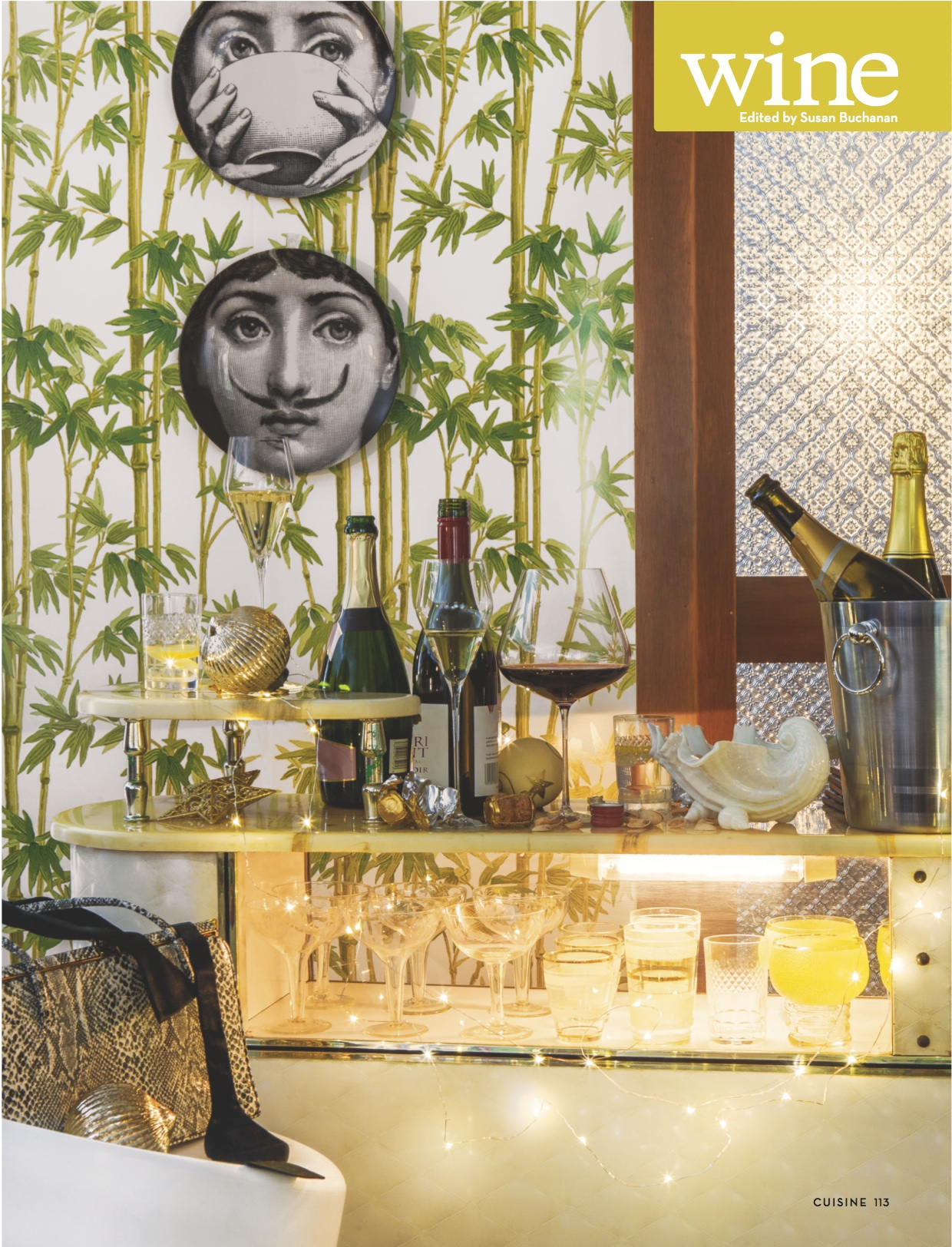 Zalto Denk'Art Crystal Glass Cuisine Magazine Fairfax Media Foxes Island Wines Cellar Door