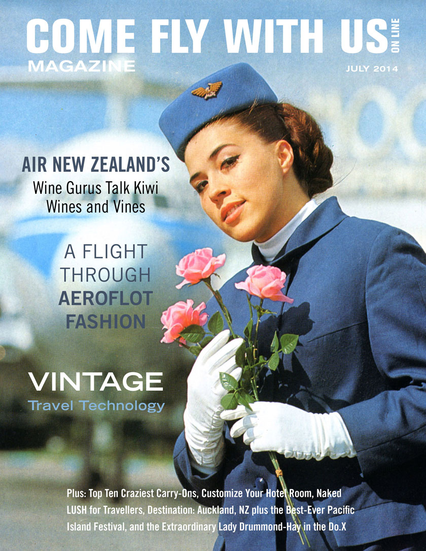 Come Fly With Us July 2014 Cover John Belsham Air NZ Wine Gurus Pg 22