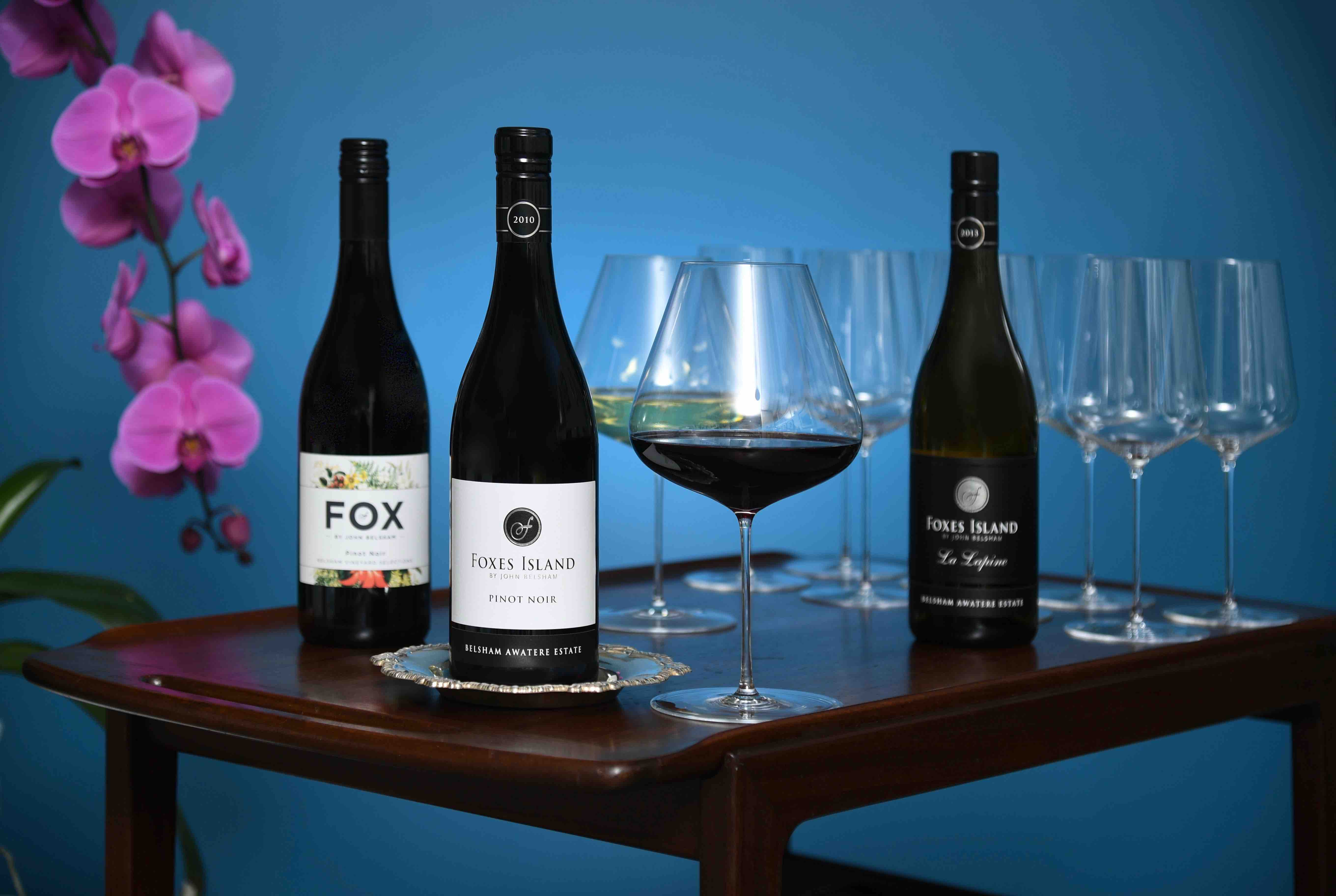 Foxes Island Wines and Zalto Crystal
