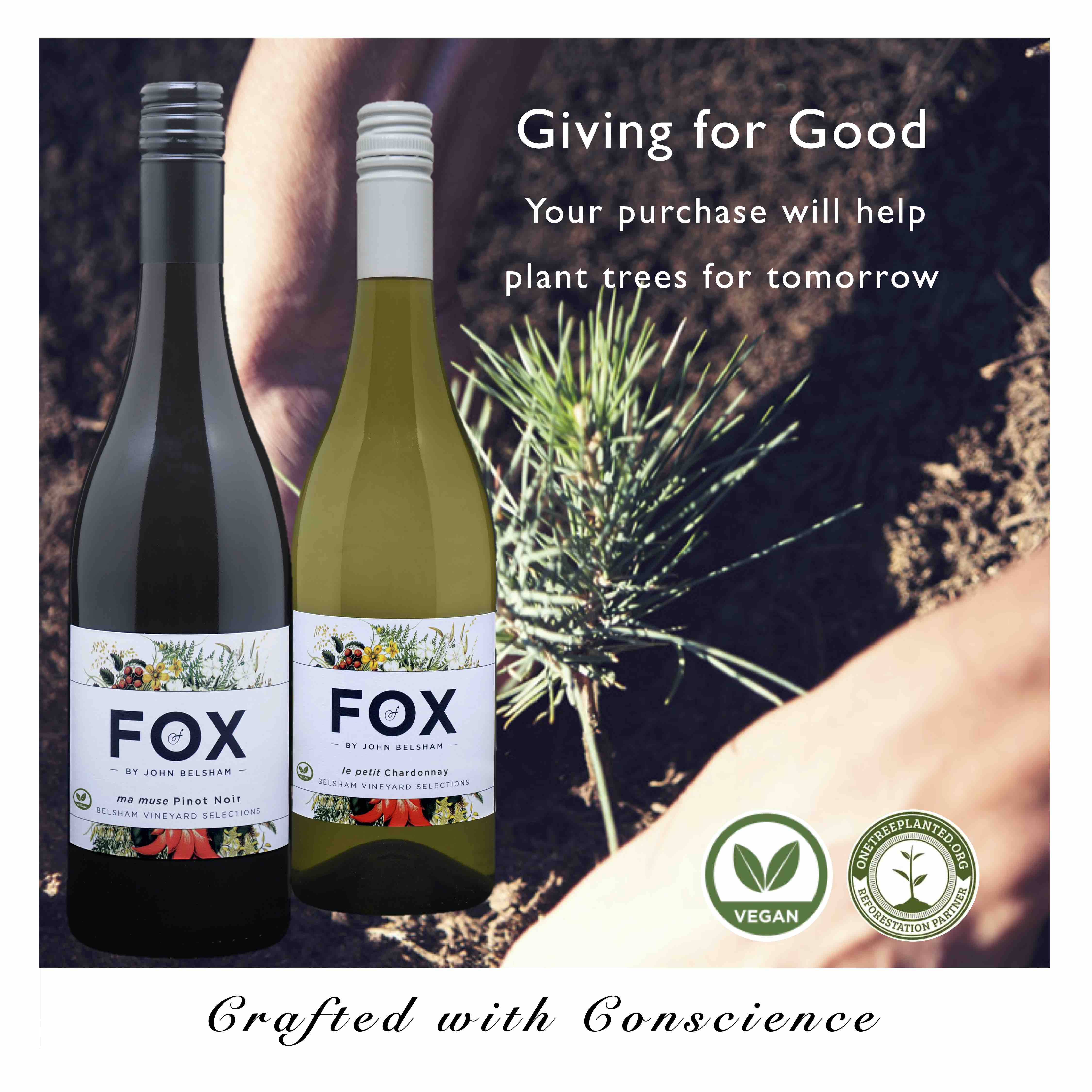 Fox Wines Crafted with Conscience