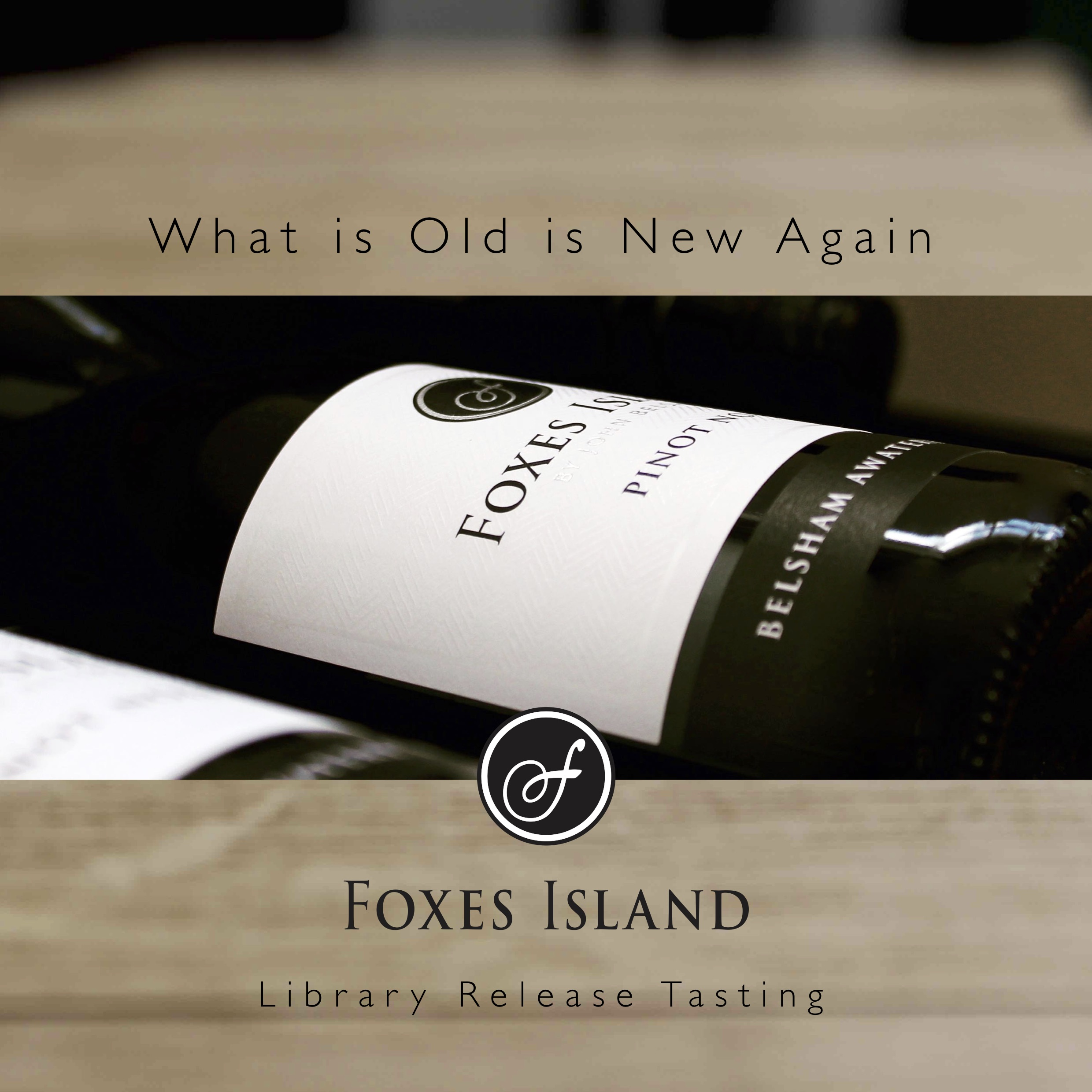 Foxes Island Library Release Tasting