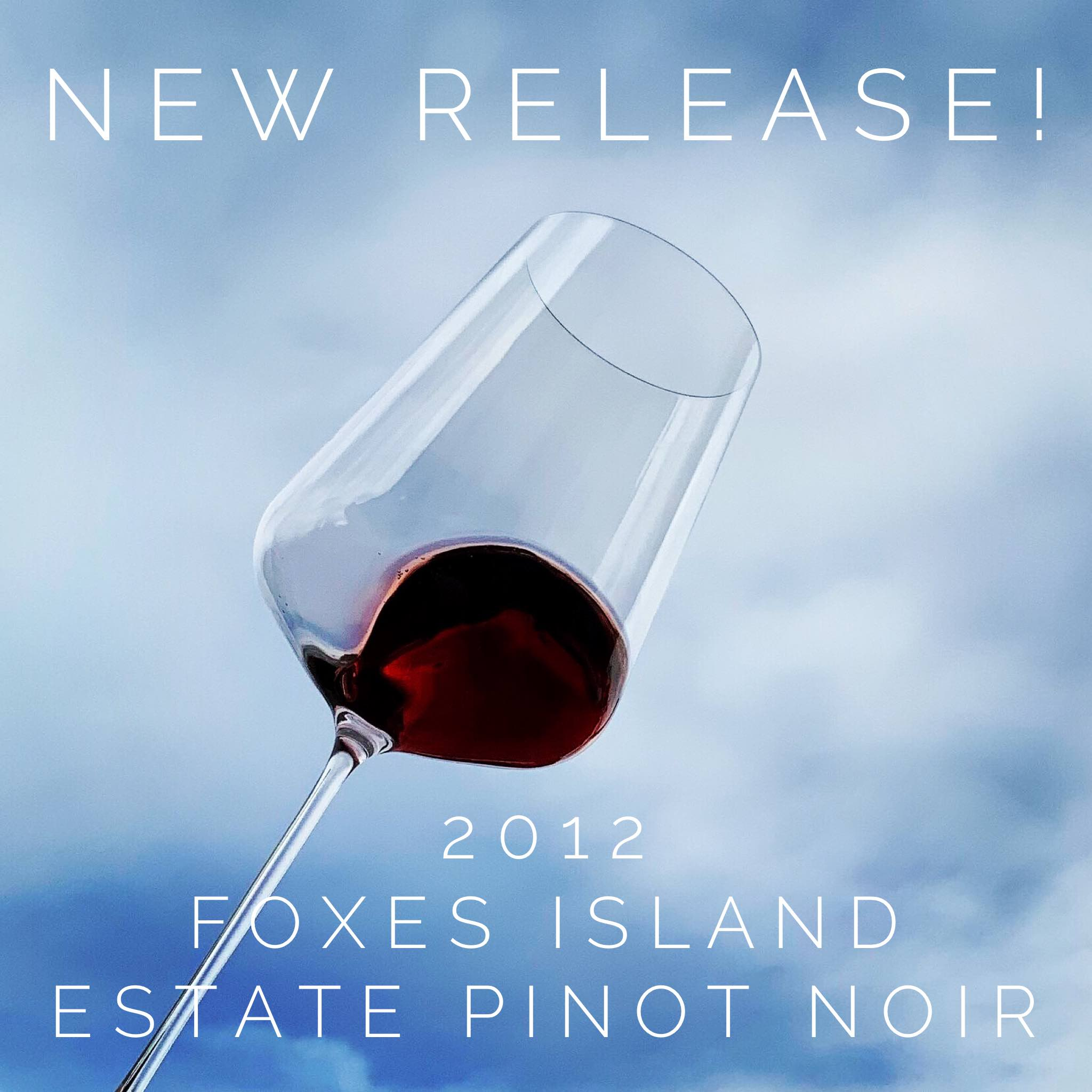 Foxes Island Estate Pinot Noir in Zalto