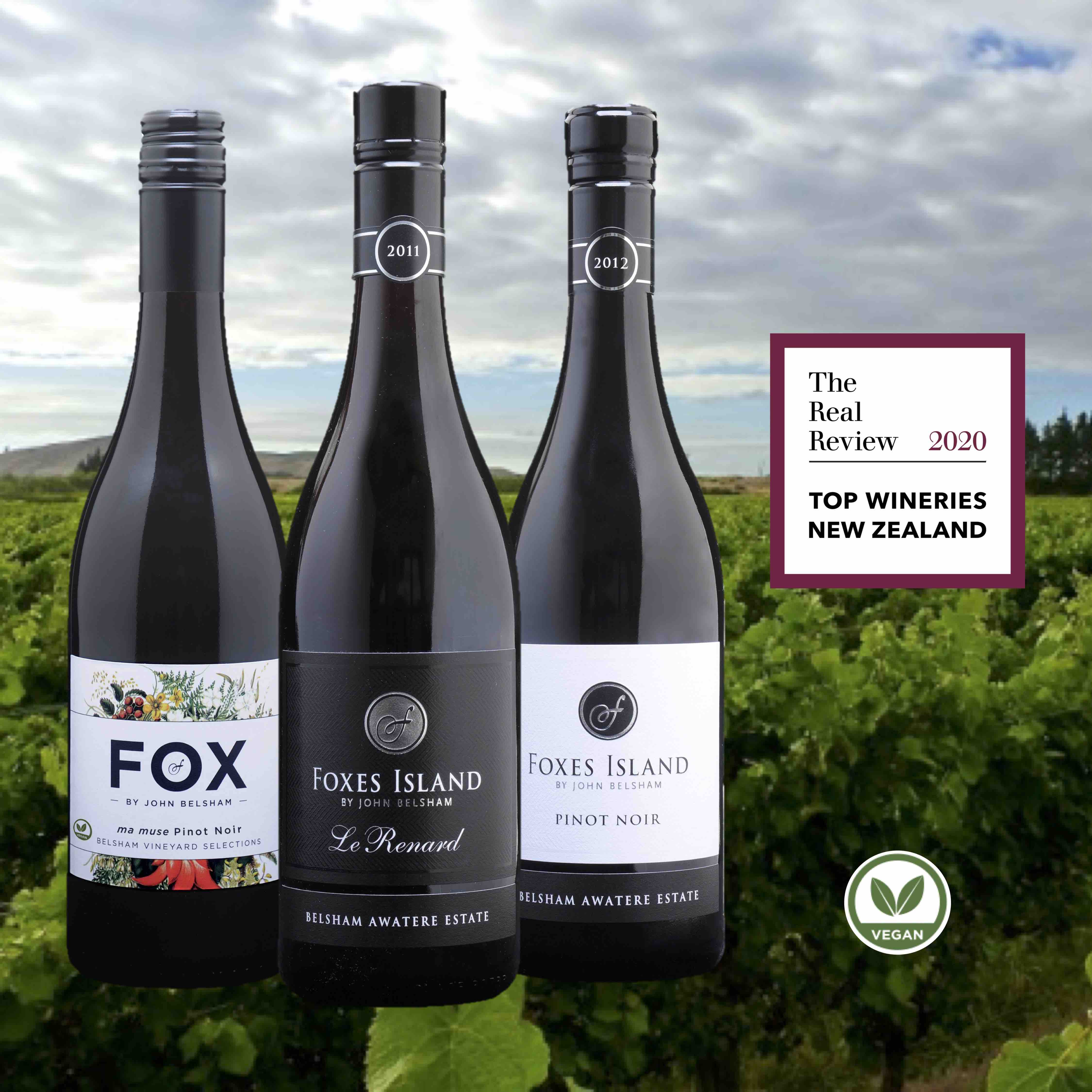 Foxes Island Top Winery 2020