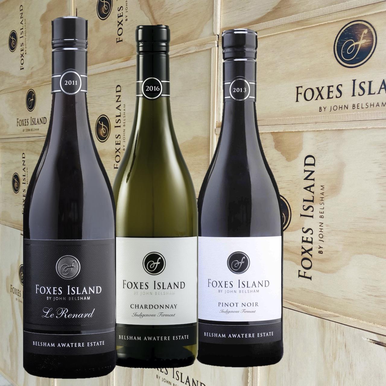 Foxes Island Trio of Wines